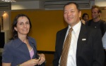 Roberta Rosseto and Marcos Hashimoto
